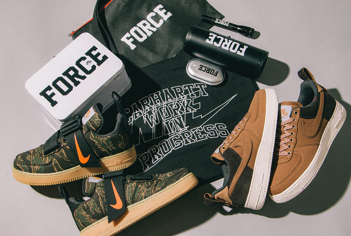 "8a0d5ddf In the spirit of the holidays, each Nike x Carhartt WIP purchase at our  Spadina shop will include an exclusive ""Force"" gift. Scroll down to have a  look at ..."