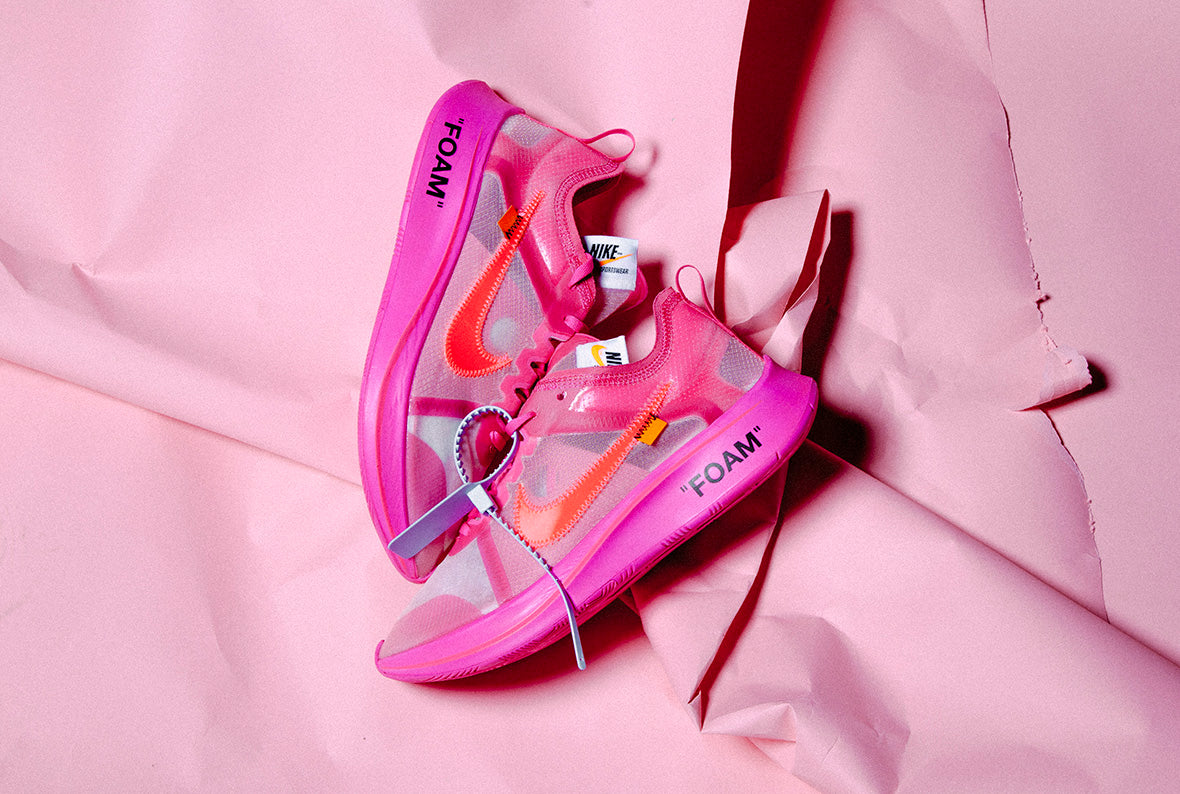 eef6a2503f2f Nike x Off-White The Ten  Zoom Fly Tulip Pink   Racer Pink