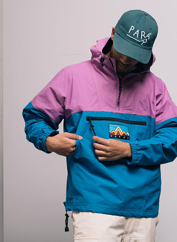 BY PARRA 1987 WINDBREAKER BLUE / PURPLE