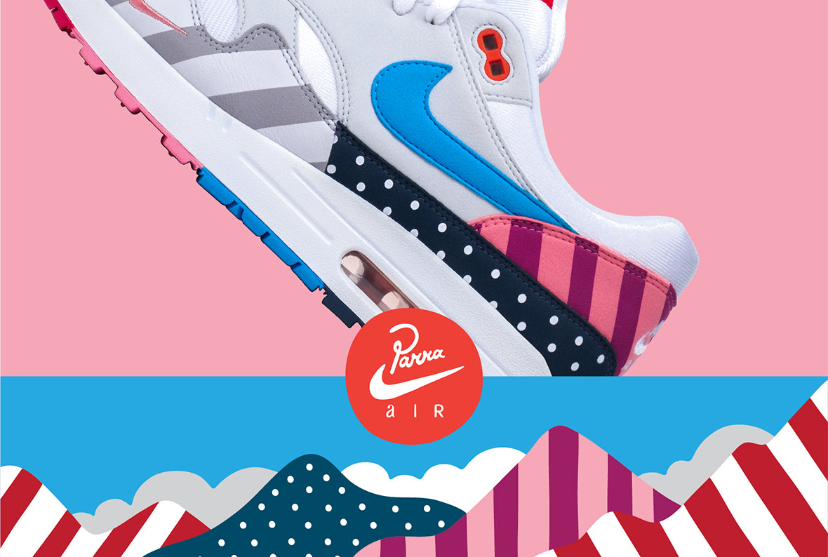 Nike x Parra Air Max 1 White / Multi