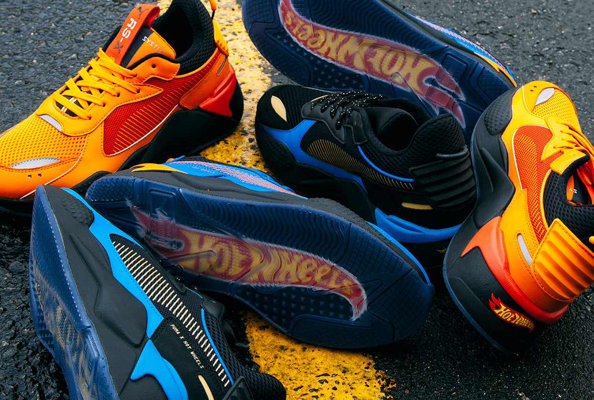 Puma RS-X Toys Hot Wheels