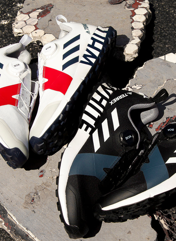 adidas Originals by White Mountaineering Terrex Two Boa | Black & White
