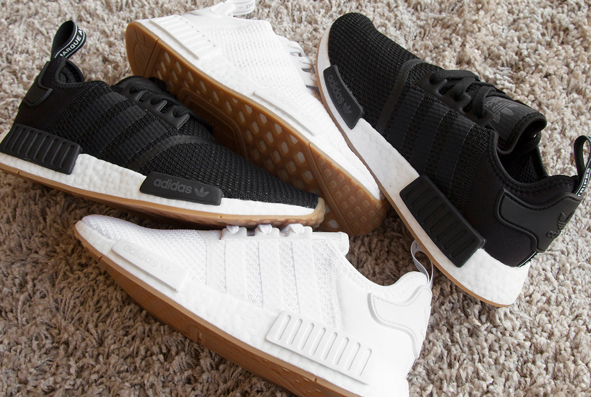 adidas NMD R1 | White & Core Black