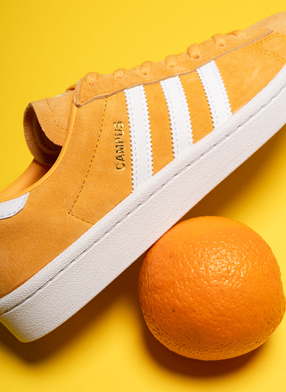 adidas Women's Campus / Chalk Orange