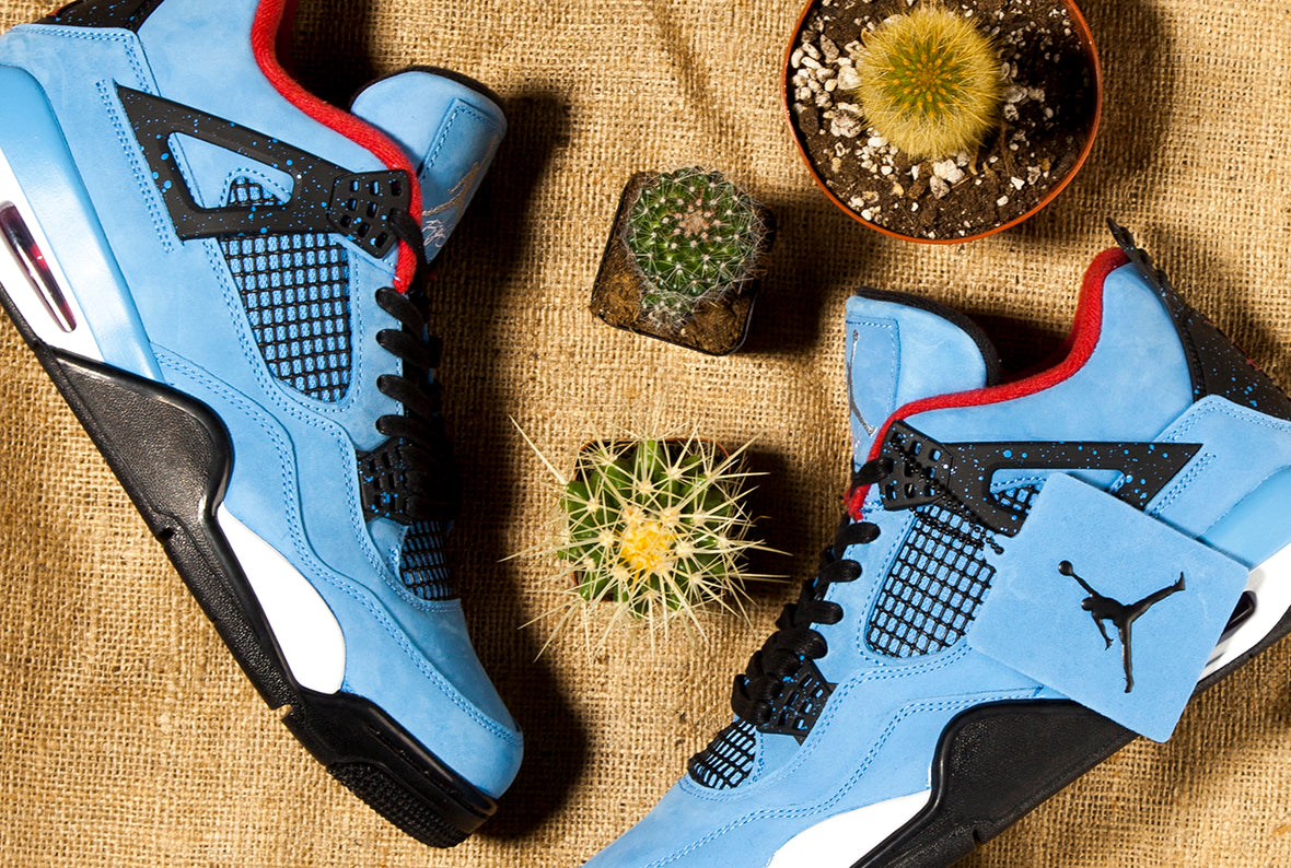 Jordan 4 Retro x Travis Scott