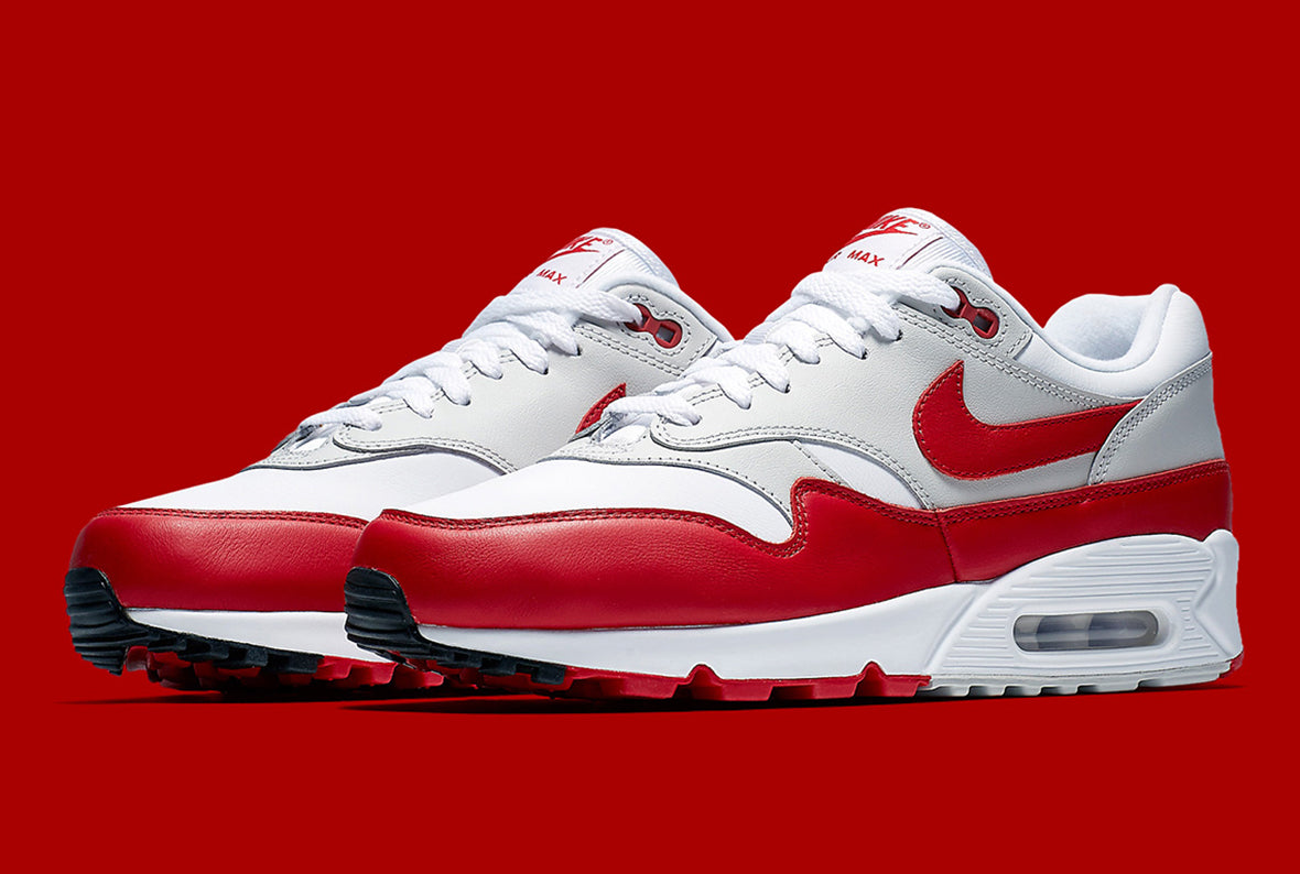 Nike Air Max 90/1 White / University Red