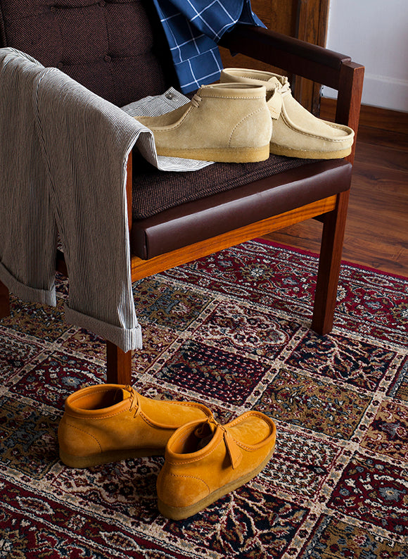 Clarks Wallabee Boot Made in Italy | Maple & Orange