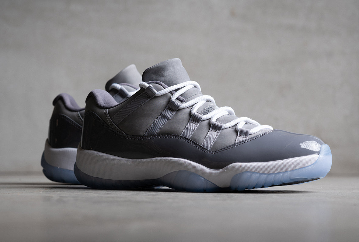 JORDAN 11 RETRO COOL GREY / MEDIUM GREY