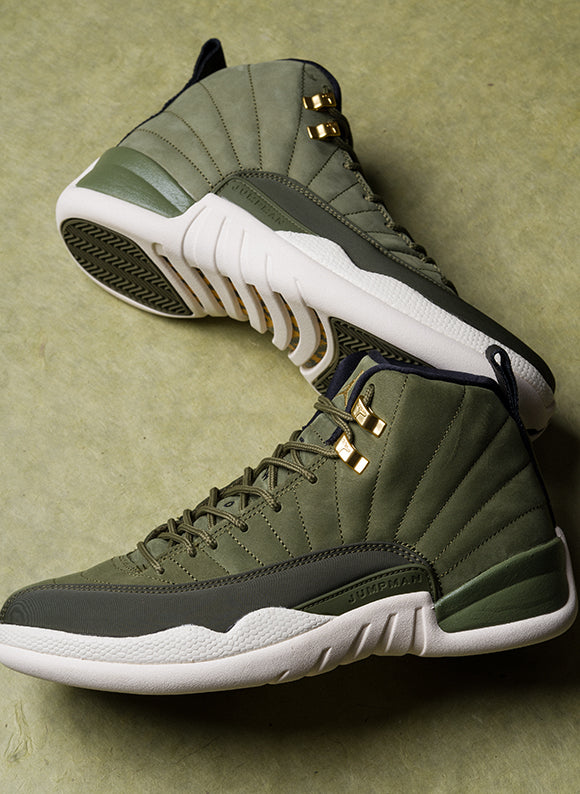 Jordan 12 Retro / Olive Canvas