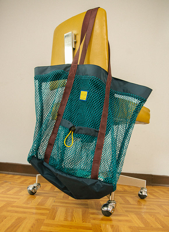 Brain Dead Mesh Tote Bag / Blue