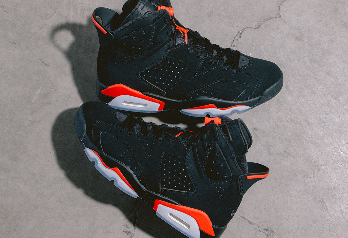 Jordan 6 Retro Black / Infrared