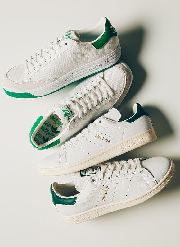 adidas stans and rod laver