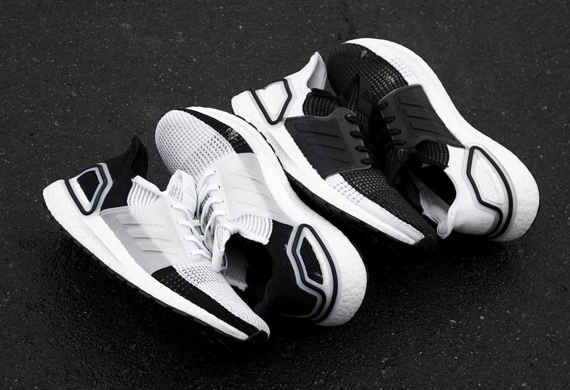 adidas Ultraboost 19 black and white