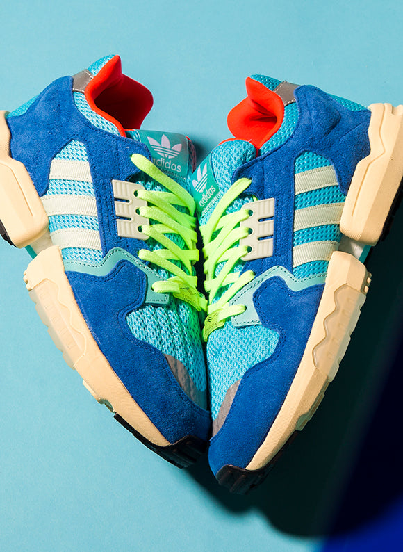 adidas ZX Torsion / Bright Cyan