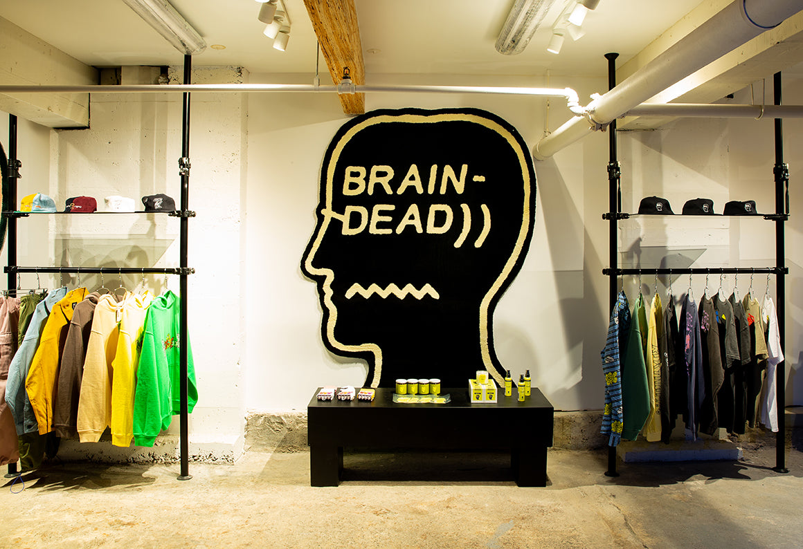 Brain Dead Pop Up Shop