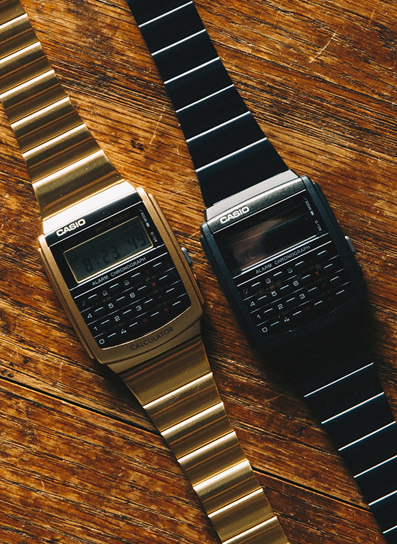 casios calcuator watch
