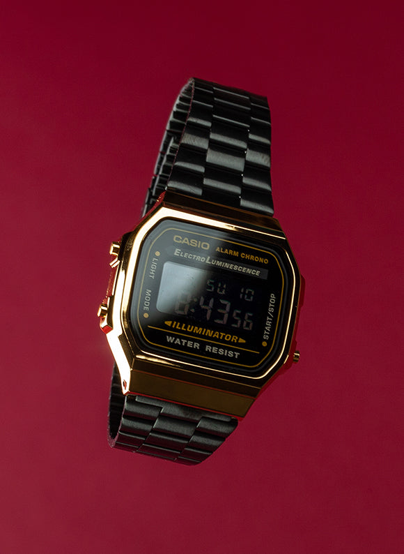 Casio Vintage Watch Black / Gold