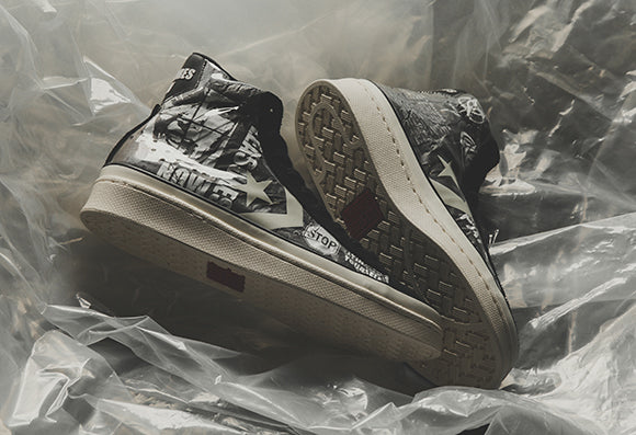 Converse x Pleasures Pro Leather Mid / Black (165602C)