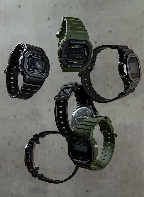 G-SHOCK GROUP SHOT