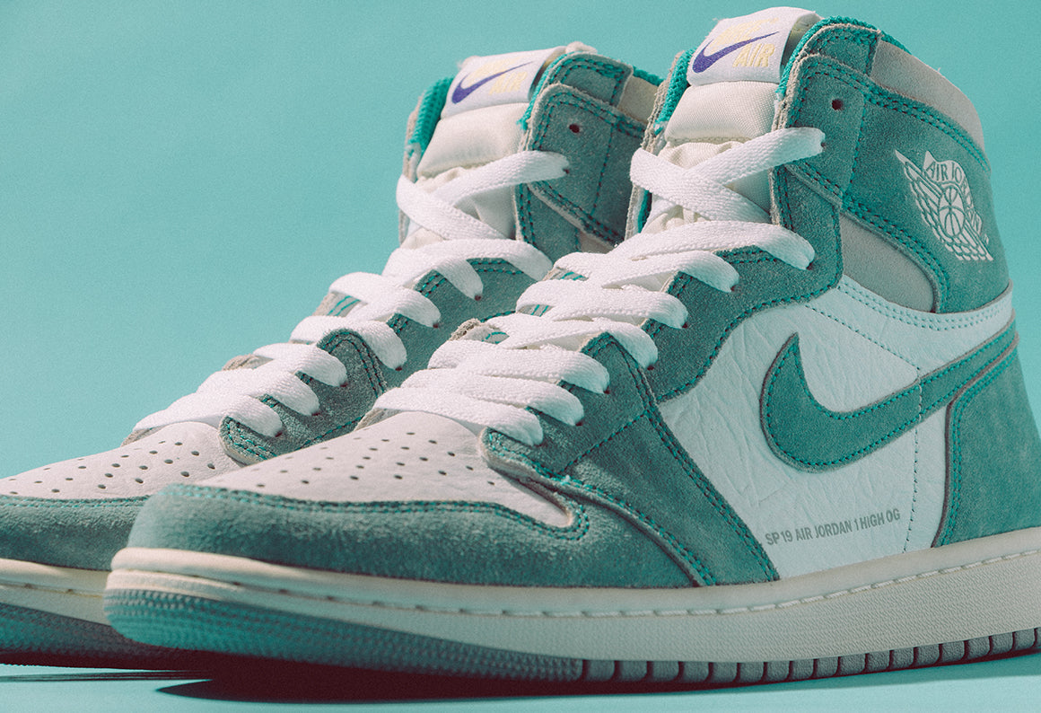 Jordan 1 Retro High OG Turbo Green / Sail