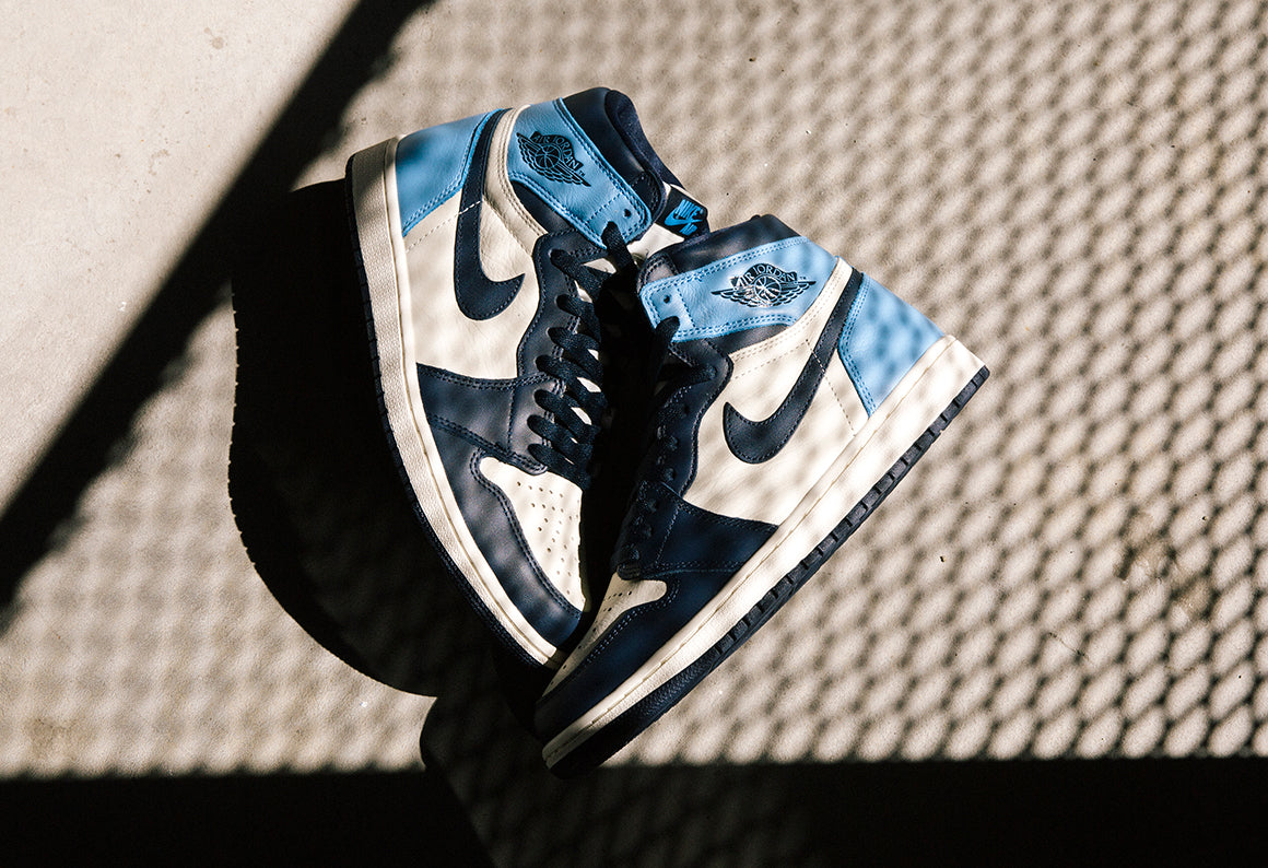 Jordan 1 Retro High OG Sail / Obsidian (555088-140)