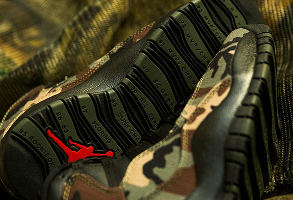 Jordan 10 Retro Medium Olive / Black (310805-201)