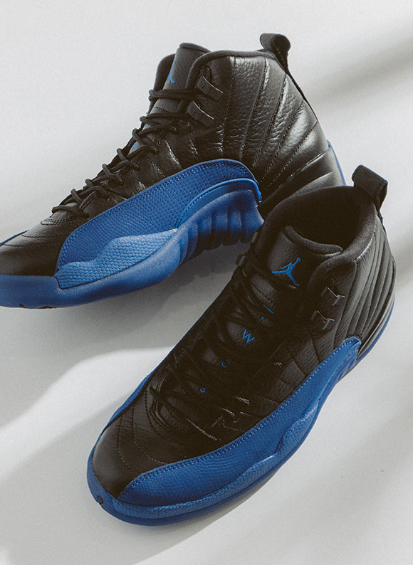Jordan 12 Retro Black / Game Royal