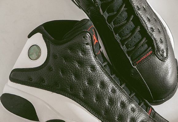 Jordan 13 Retro Black / Gym Red (414571-061)