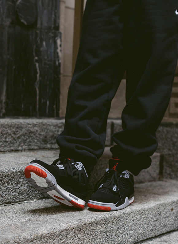 online store 7c3d5 d7be0 Jordan 4 Retro Black   Fire Red - Cement Grey (308497-060) 2