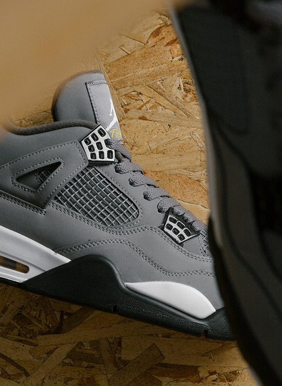 Jordan 4 Retro Cool Grey / Chrome (308497-007)