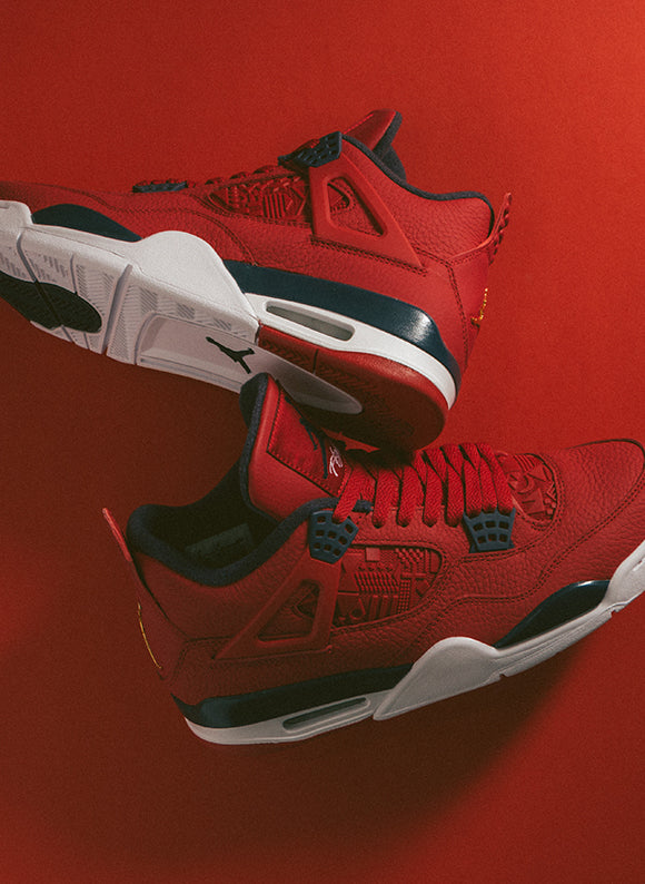 Jordan 4 Retro SE Gym Red / Obsidian