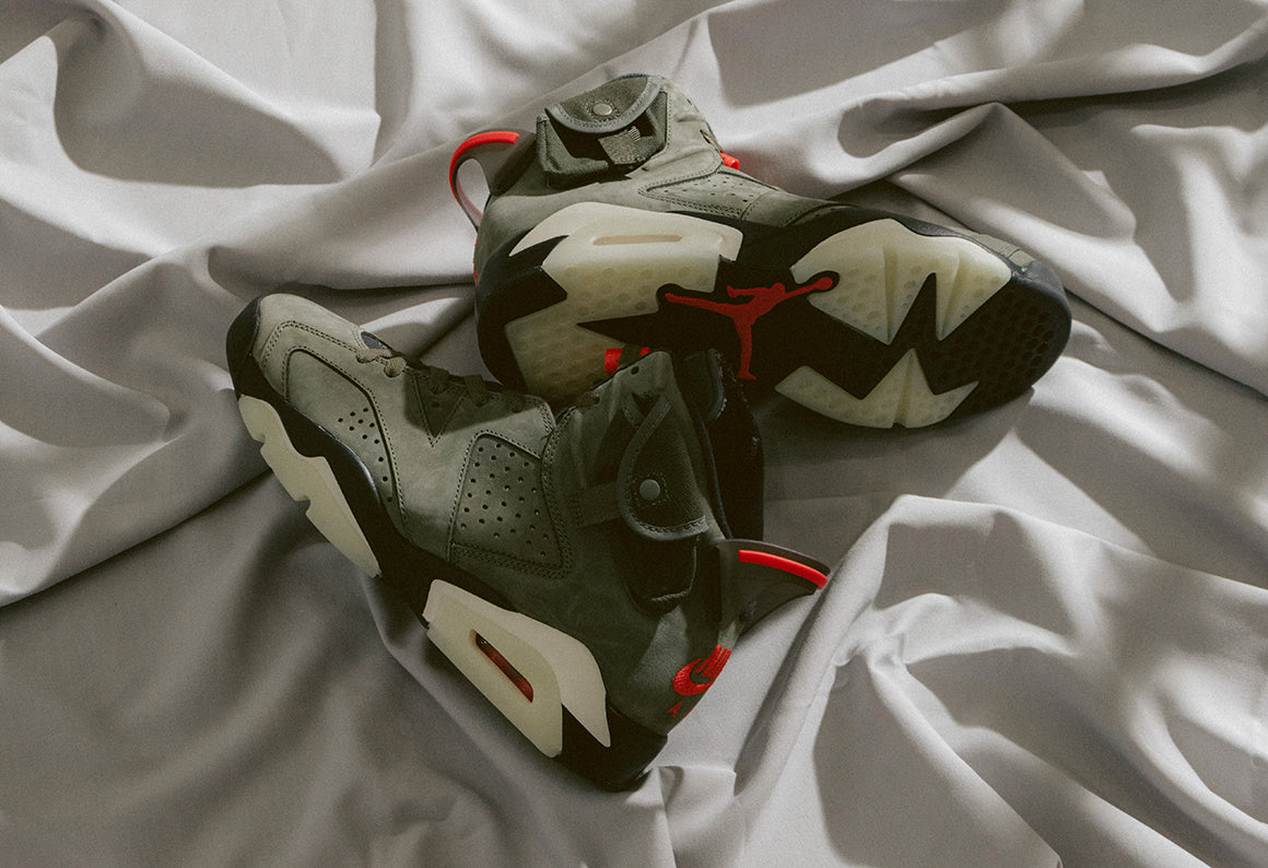 Jordan 6 Retro SP x Travis Scott / Medium Olive