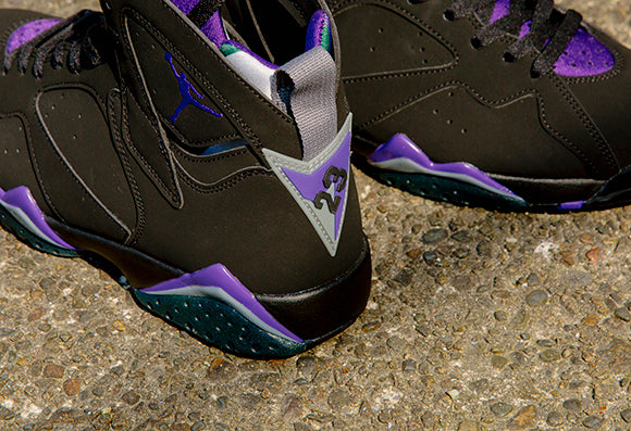 Jordan VII Retro Black / Field Purple