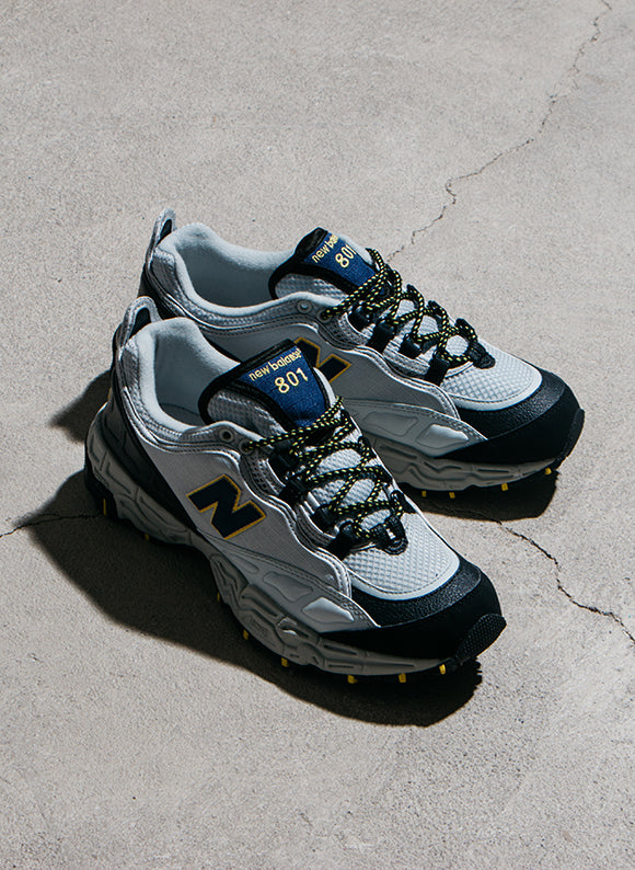 New Balance M801AT Trail Runner Grey / Navy