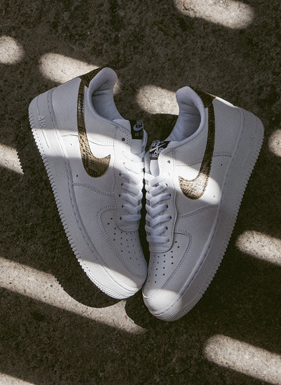 Nike Air Force 1 Low Retro Premium QS White / Elemental Gold