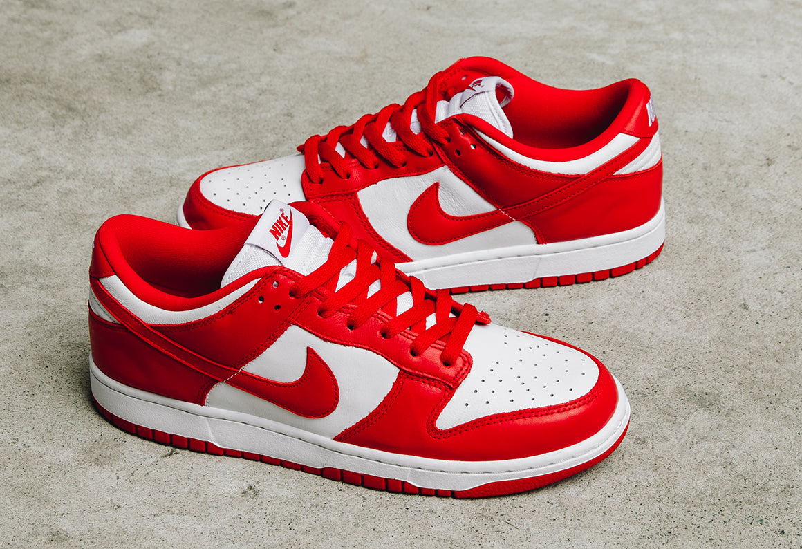 Nike Dunk Low SP White / University Red (CU1727-100)