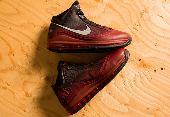 Nike Lebron VII QS Team Red / Metallic Silver