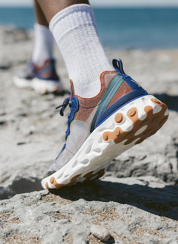 Nike React Element 87 Dusty Peach / Atmosphere Grey