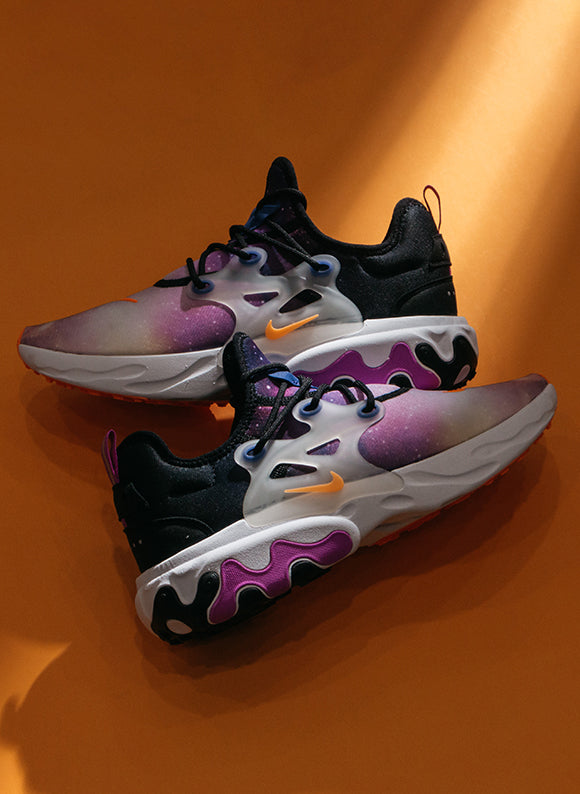 Nike React Presto Premium Black / Total Orange