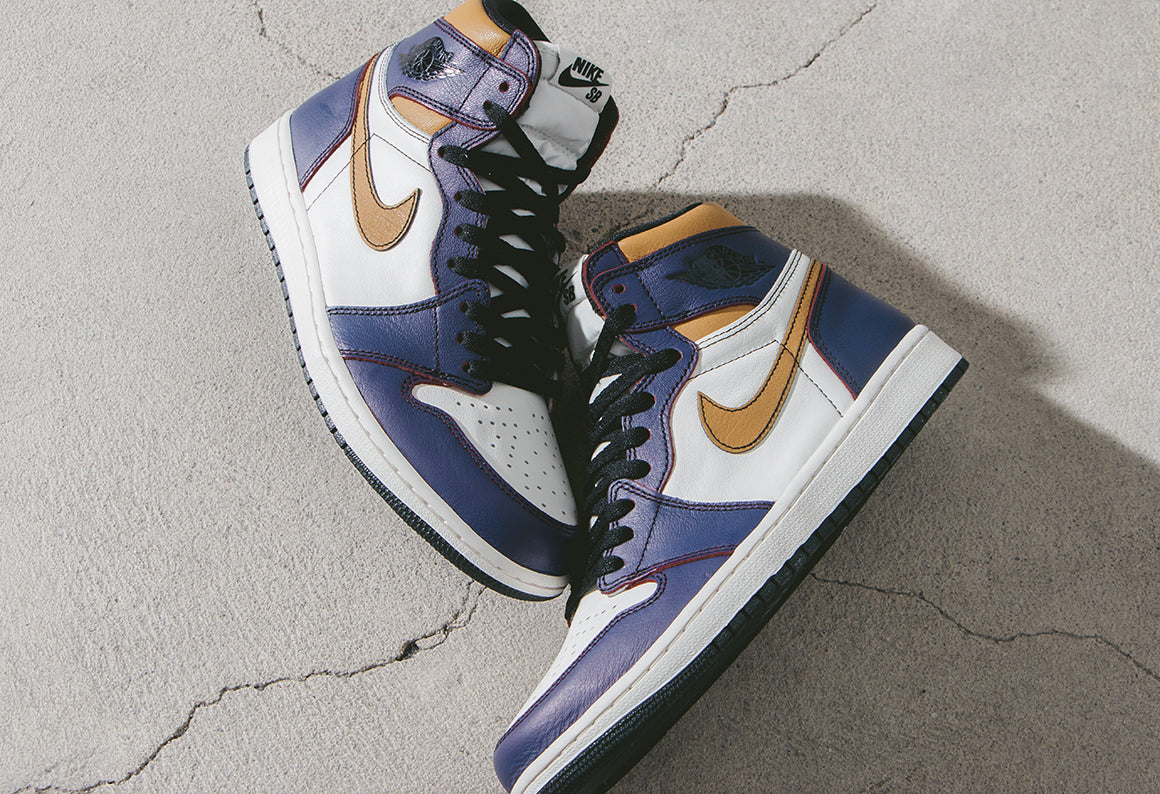 uk availability 1c698 6521b Nike SB Air Jordan 1 High OG Court Purple   Black (CD6578-507)