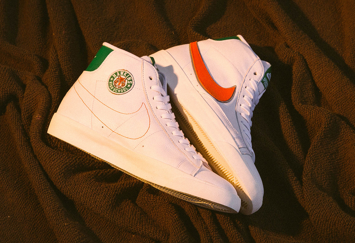 Nike x Stranger Things Hawkins High Blazer Mid / White