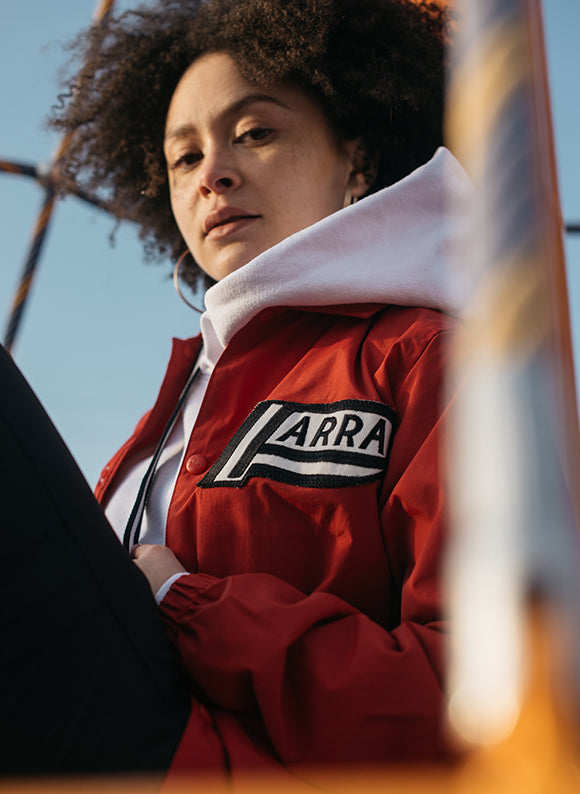 by Parra Not Racing Coach Jacket / Red