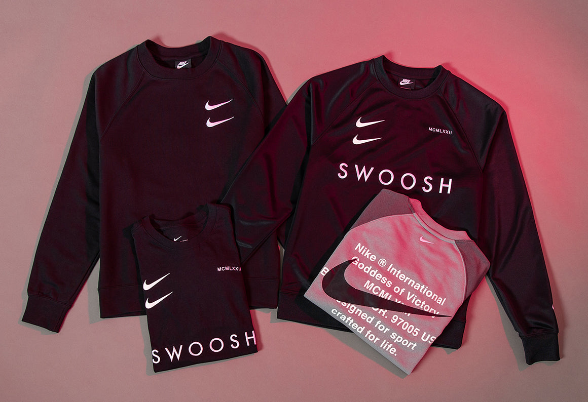 nike double swoosh apparel