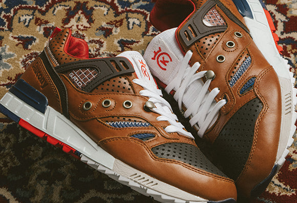 Saucony x 24 Kilates Grid SD La Victoria / Brown