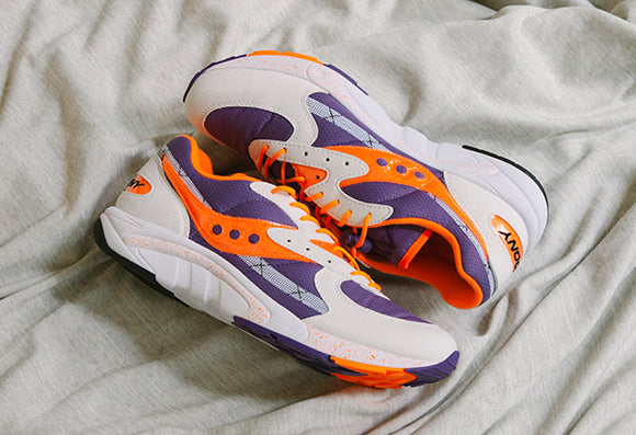 Saucony Aya White / Purple (S70460-1)