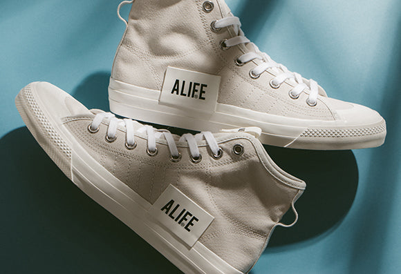 best authentic 81d1f 06697 adidas Consortium Series x ALIFE Nizza Hi RF   White