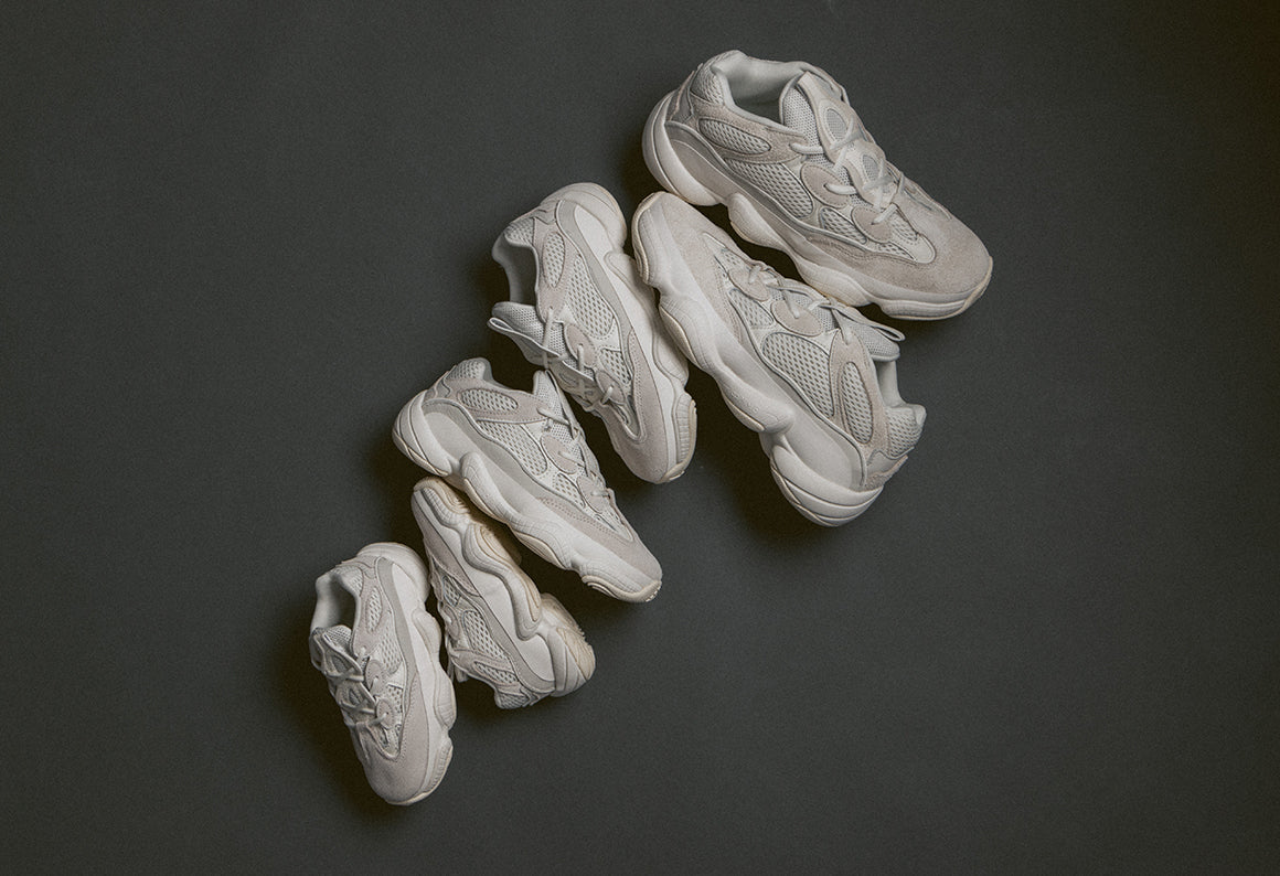 adidas Originals Yeezy 500 / Bone White