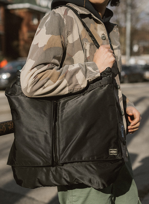 PORTER Tanker Helmet Bag / Black