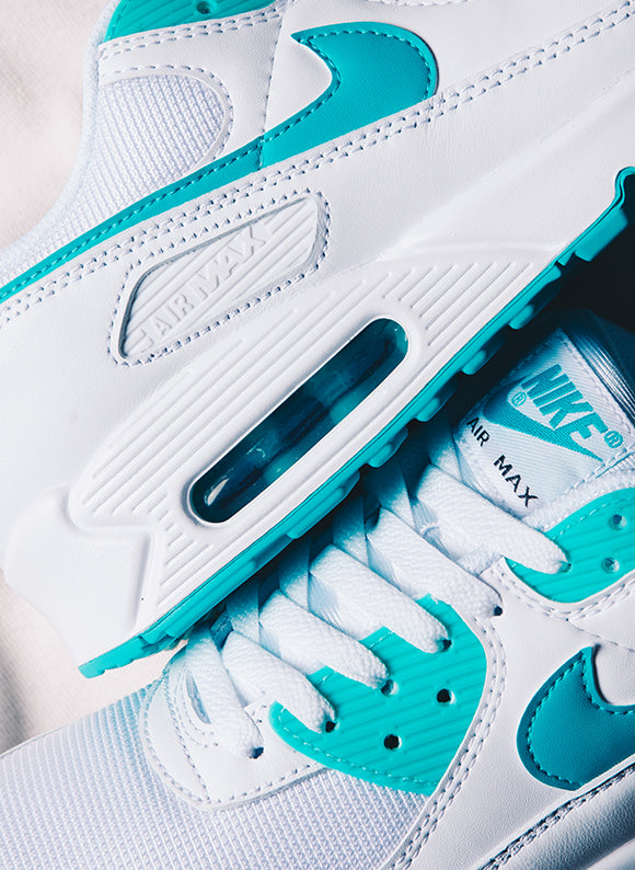 Nike Air Max 90 White / Hyper Jade