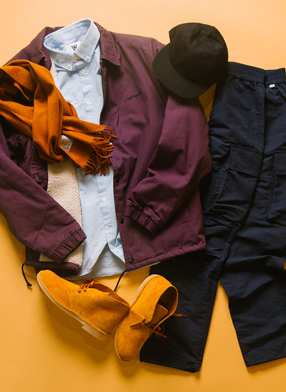 clarks OUTFIT GRID